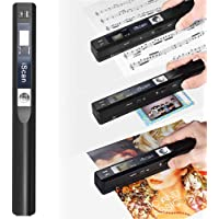 Microware Portable Mini Cordless A4 Scan 900DPI Document Book Handheld Scanner