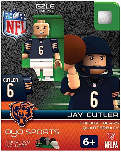 NFL Chicago Bears Jay Cutler Gen 2 Mini Figure, Petit