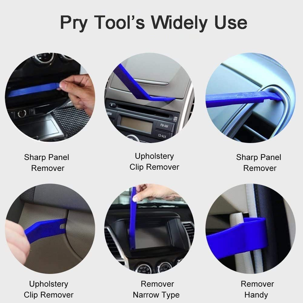 GLISTON Auto Dent Puller Kit Paintless Dent Repair Tool Adjustable Width Golden Lifter for Automobile Motorcycle Refrigerator Body
