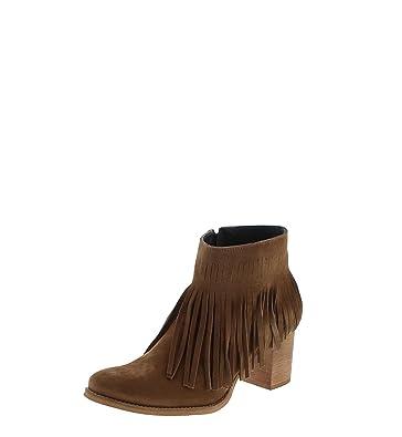 Fashion Boots Stiefel Boots Borlas Boots FW1013 VisonBraune