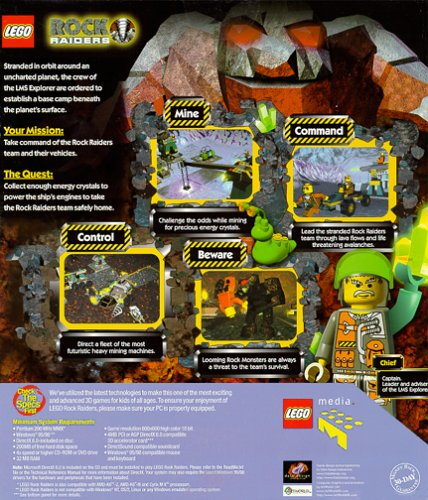 LEGO Rock Raiders - PC