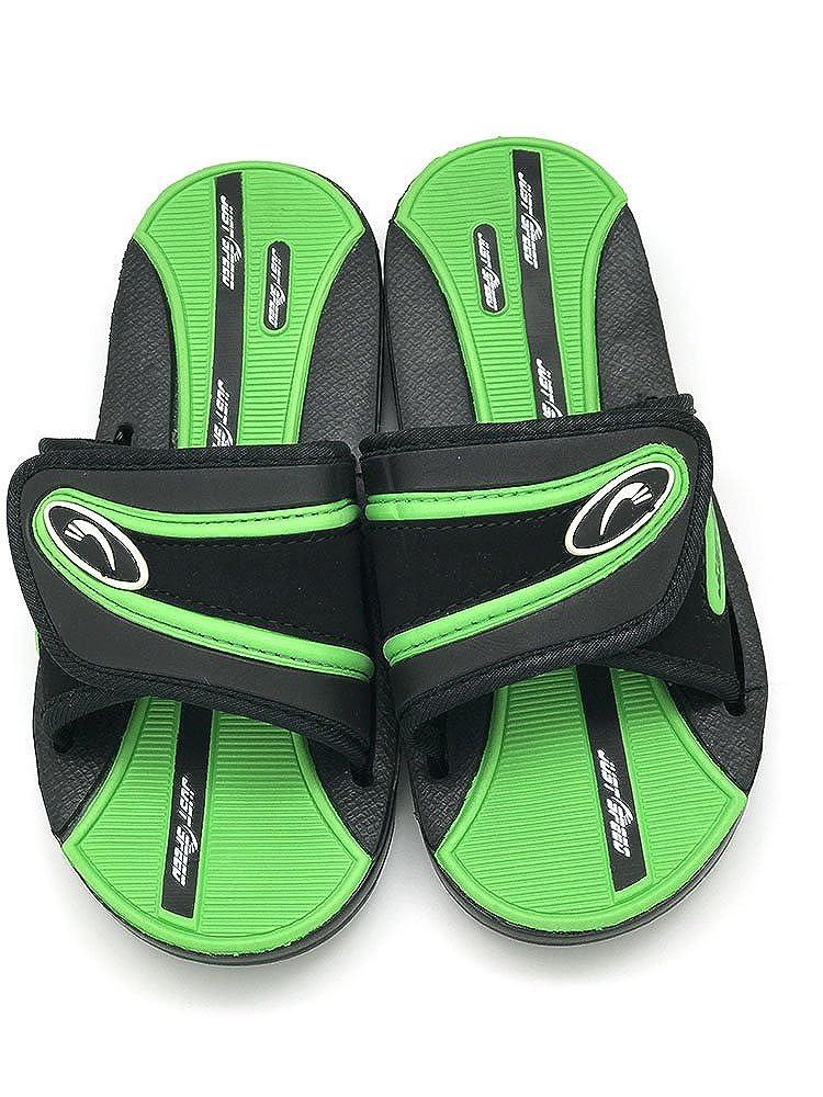 bdbdc374aec03 Mua sản phẩm Just Speed Boys Youth Slide Sandals Flip Flop Cool ...