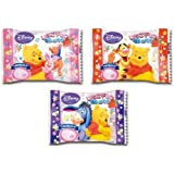 Ninjapo Winnie The Pooh Strawberry Cho-Co-Late Marshmallow 30 Pcs Box Eiwa Japanese Candy