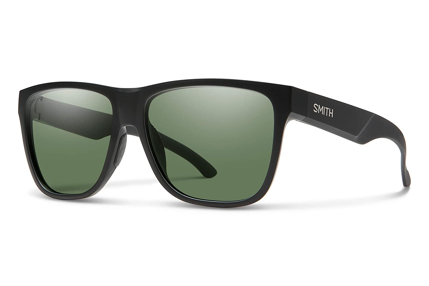 Smith Sunglasses, USA メンズ  Matte Black / Chromapop Polarized Gray Green B07MTN6P81