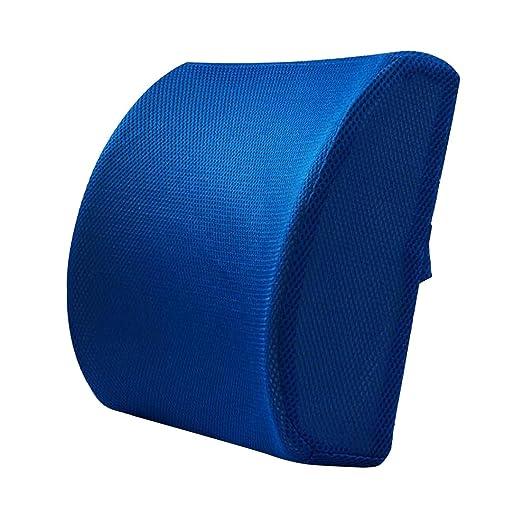Cojín lumbar de apoyo para silla de oficina y respaldo
