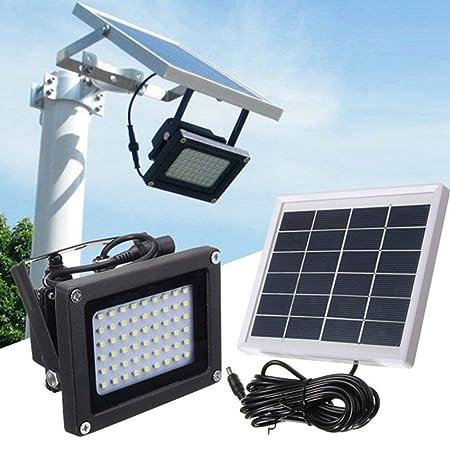 fghdfdhfdgjhh 54 Leds Proyector Solar Powered Sensor de luz de la ...