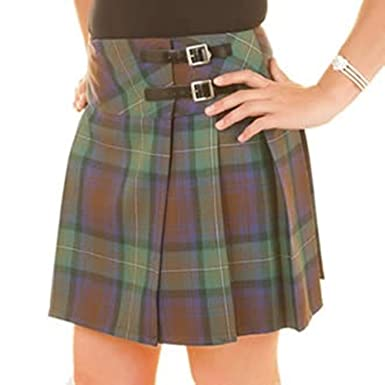 6033d2f3371e Isle of Skye 100% Lambswool Ladies Billie Kilt - Made in Scotland by  Lochcarron (