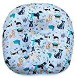 Removable Slipcover for Newborn Lounger. 100% Soft Cotton. Made in USA (No. 13)