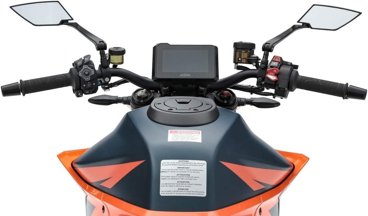 XT Negro Espejo Retrovisor XR1 para Suzuki V-Strom 650