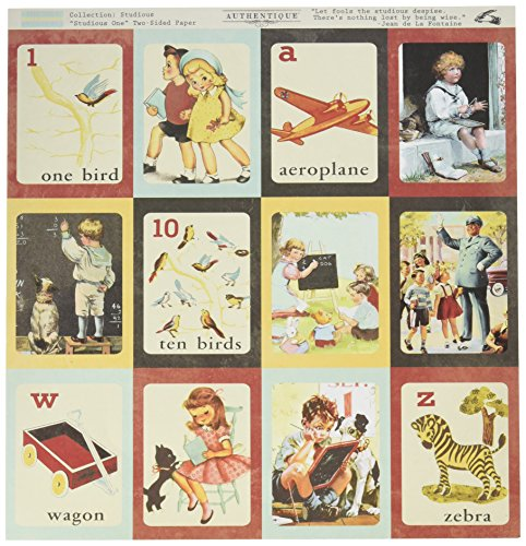 vintage flashcards - 1