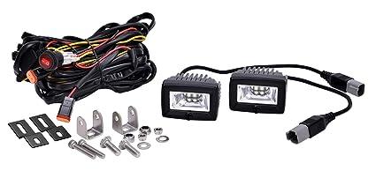 Cool Amazon Com Kc Hilites 519 Led Backup Flood Light System C Series Wiring Digital Resources Dylitashwinbiharinl
