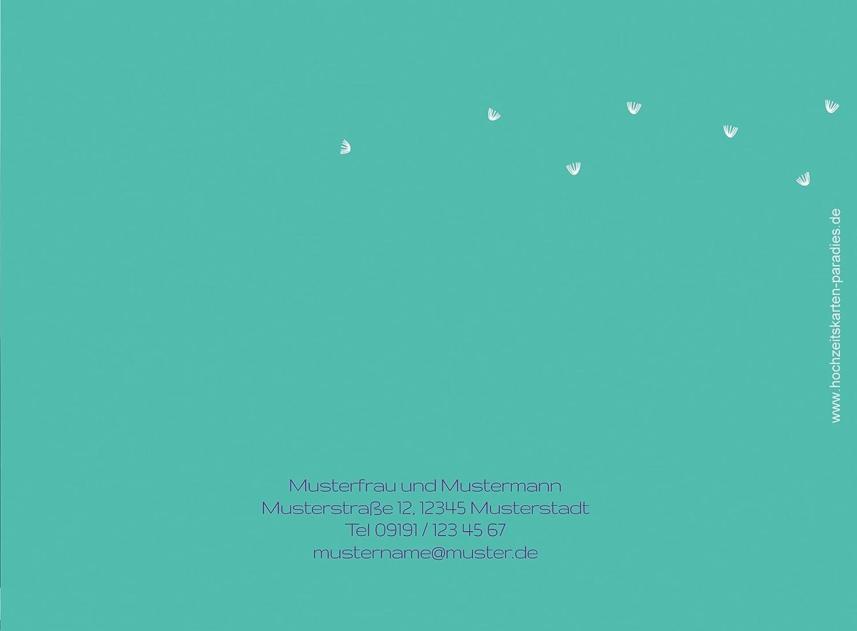 Kartenparadies Kartenparadies Kartenparadies Danksagung für Hochzeitsgeschenke Hochzeit Dankeskarte PusteBlaume, hochwertige Danksagungskarte Hochzeitsglückwünsche inklusive Umschläge   10 Karten - (Format  148x105 mm) Farbe  Orangerot B01NBWWD5C   Schön    Produk 771062