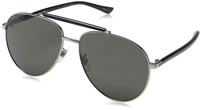 1d1f25470c Image Unavailable. Image not available for. Colour  Gucci Men s GG0014S 005  Sunglasses