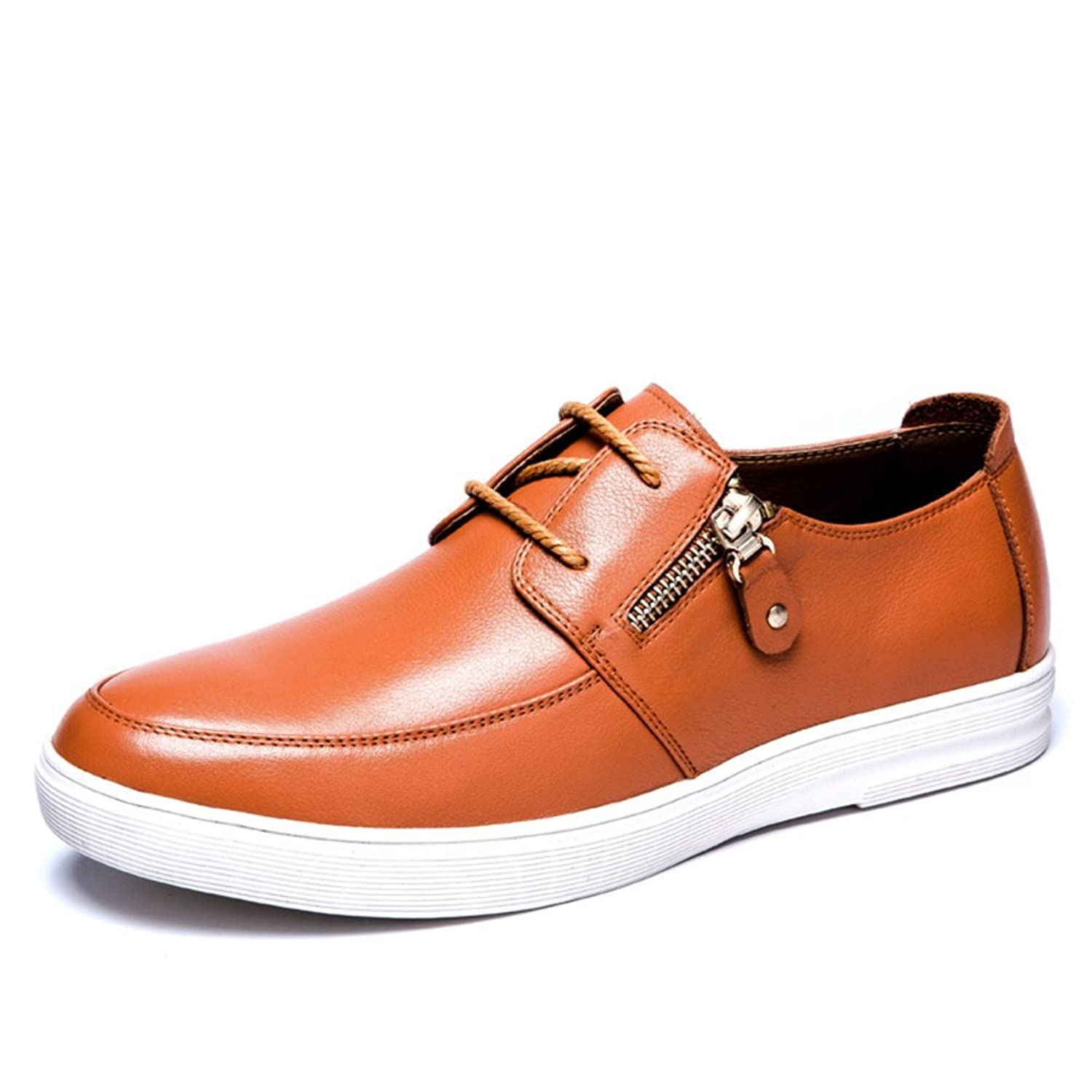 2016Leather shoes to help low/Daily lace shoes/Wear comfortable shoes/Men's casual shoes