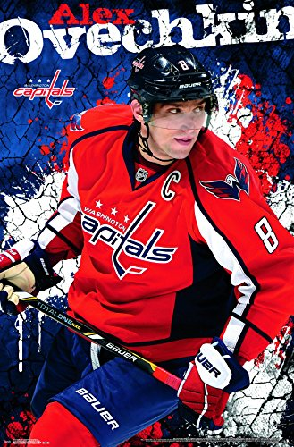 Trends International Washington Capitals - Alexander Ovechkin Premium Wall Poster, 22.375