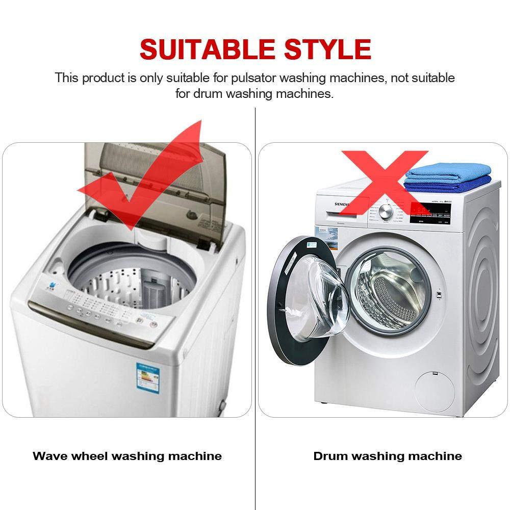 Filterbeutel f/ür Top-Loading-Waschmaschinen OOOUSE Fusselentferner f/ür Waschmaschine Flower-Type Washing Machine Schwimmender Haarentferner 4 Pack