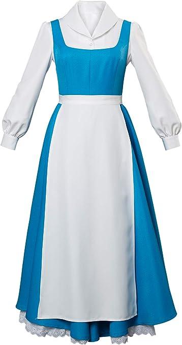 MingoTor La Belleza y Das Bestia Vestido de Princesa Criada Belle ...