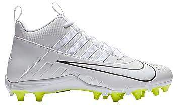 6f68430bf Amazon.com  Nike Alpha Huarache 6 Varsity Lacrosse Cleats(White Volt ...