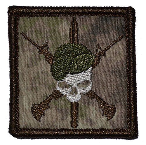 Special Forces Green Beret Crossed Rifles - 2