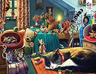 product image for Ceaco Paws Gone Wild - Kitten Play Puzzle -550 Pieces