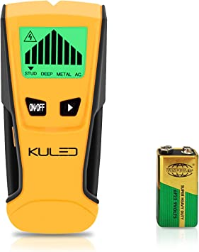 3 in 1 LCD Stud Center Finder Metal AC Live Wall Wire Detector Scanner Finder