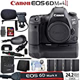Canon EOS 6D Mark II Digital SLR Camera Bundle (Grip/Power Bundle, Body)