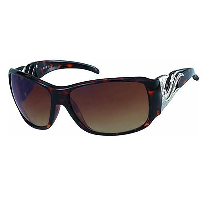 Dandash - Gafas de sol - para mujer marrón marrón: Amazon.es ...