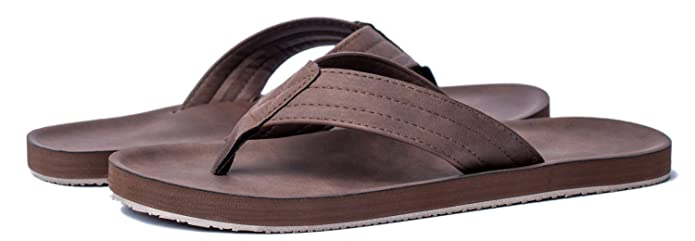 Amazon.com | VIIHAHN Mens Flip Flops Summer Beach Sandals Extra Large Size Arch Support Slippers | Sandals