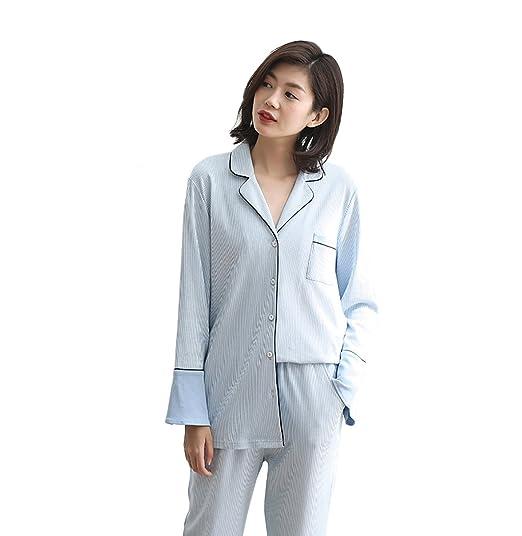 Vestido cómodo Sra. Pijamas de algodón otoño Dulce y Encantadora ...