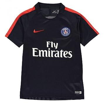 Nike PSG Y NK Dry Top SS SQD - Camiseta de Manga Corta Paris Saint Germain