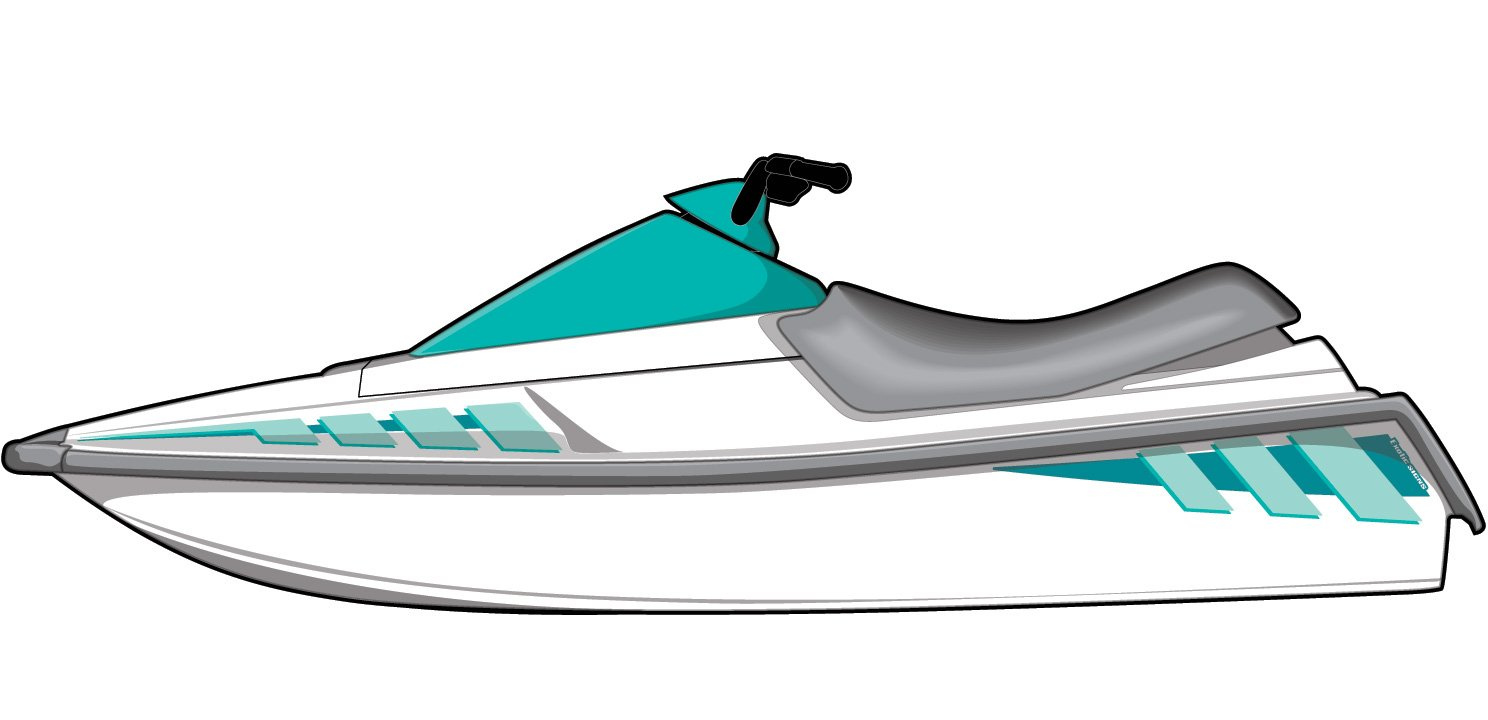 Amazon com: Exotic Signs Yamaha Wave Runner 1987-1993 and LX