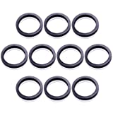 10PCS Gas Spout Gaskets Replacement Rubber Fuel Can Spout Seals for Universal Plastic 5 Gal 10 20L Fuel Tank Spout