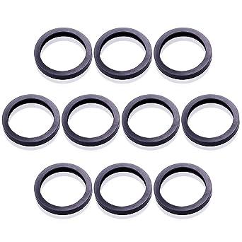 10pcs Gas Spout Gaskets Replacement Rubber Fuel Can Spout Seals For Universal Plastic 5 Gal 10 20l Fuel Tank Spout 10 Set Amazon Com Industrial Scientific