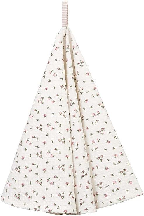 Geschirrtuch Küchentuch ROSEN weiß rosa Baumwolle Clayre /& Eef