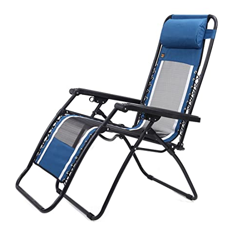 Prime Amazon Com Ms Lounge Chair Fold Recliners Blue Lazy Back Inzonedesignstudio Interior Chair Design Inzonedesignstudiocom