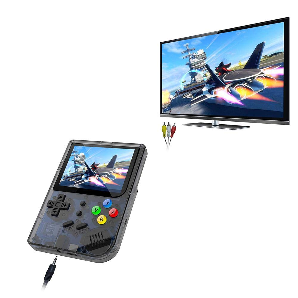 Layopo RG300 Game Console, Opening Linux Tony System Retro Handheld Game Console 16GB Support 32G TF Card 3 Inch Screen More Than 3000 Games Portable Video Game Console by Layopo (Image #8)