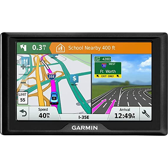 Garmin Drive 51 LM GPS Navigator with Driver Alerts USA (010-01678-0B) with  5 inch Universal GPS Navigation Protect and Stow Case & 1 Piece Micro