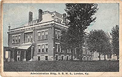 London Kentucky S. B. M. S. Administration Building Antique Postcard V9983