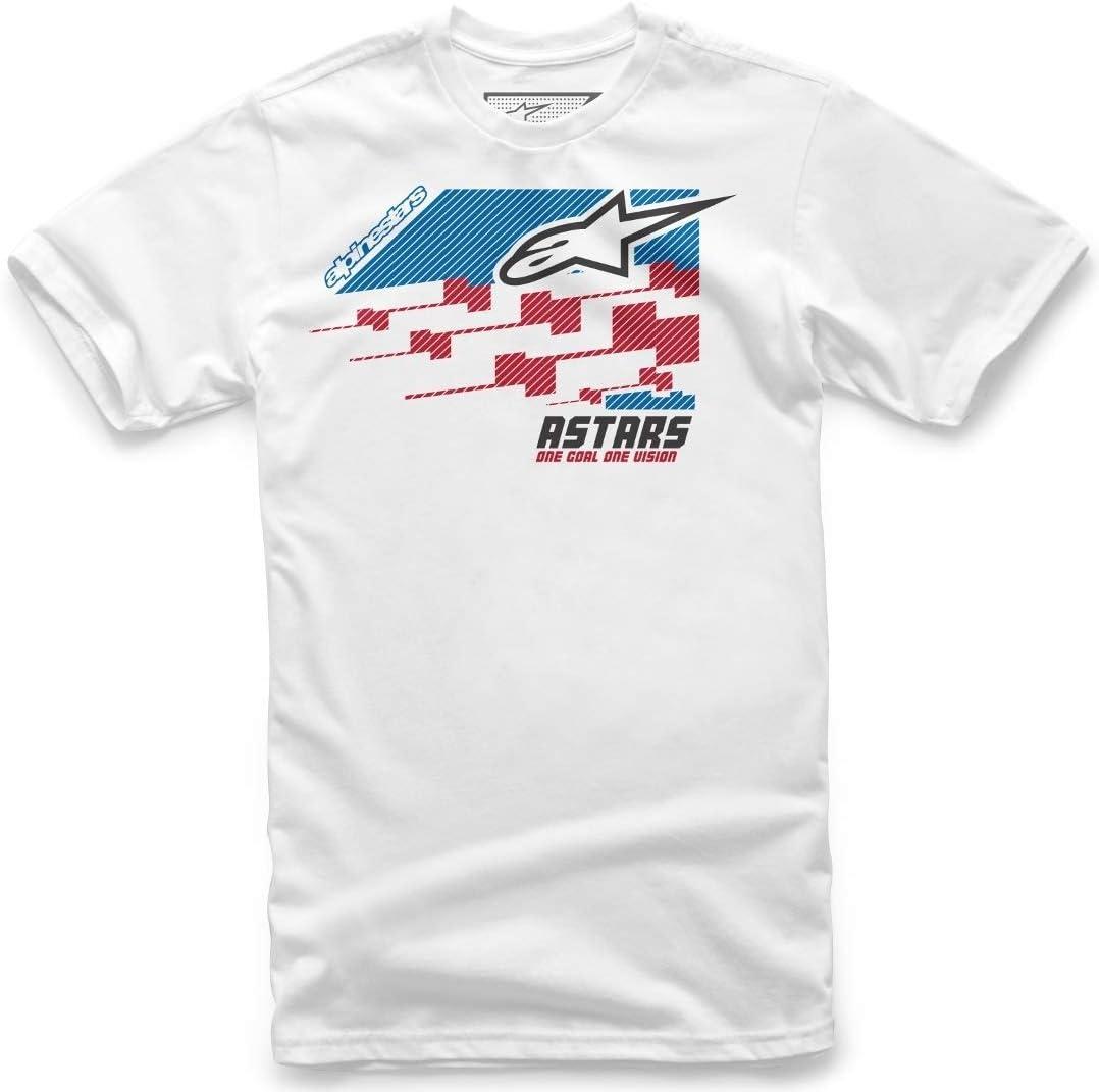 Camiseta Alpinestars Trio blanco Blanco medium