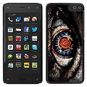 EJOY---Cubierta de la caja de protección para la piel dura ** Amazon Fire Phone ** --Nativo de Sci Fi misterioso Gris Patrón