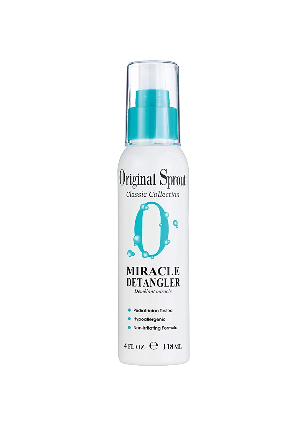 Original Sprout Miracle Detangler. All Natural Hair Moisturizer and Leave-In Conditioner Spray, 4 oz (Packaging May Vary)