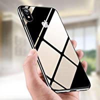 iKALULA Coque iPhone XR, Housse iPhone XR Anti-Rayures Absorption de Choc Case Cover iPhone XR Ultra Fine Gel Souple TPU Housse de Protection pour iPhone XR - Jet Noir