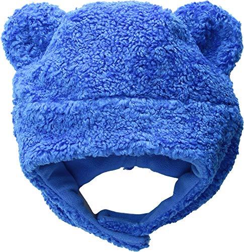 Obermeyer 78030 Kid's Ted Fur Hat, Stellar Blue - 1-4