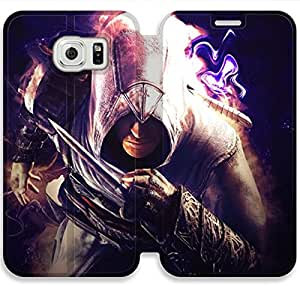 Elegant Printing Ezio Auditore Da Firenze-9 iPhone Samsung Galaxy S6 Leather Flip Case