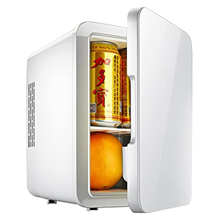 DULPLAY Blanco Nevera Coche,Mini Nevera, Capacidad 4l Refrigerador ...