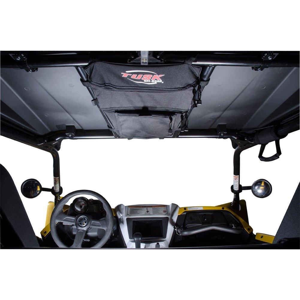Tusk Overhead Storage & Map Bag Black - Fits: Yamaha YXZ1000R 2016-2019