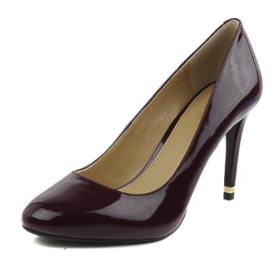 29c4fa8878ff MICHAEL Michael Kors Womens Ashby Flex Leather Round Toe