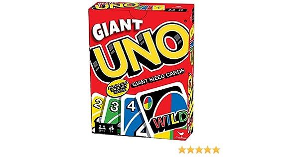 Amazon Cardinal Giant Uno Game Toys Games