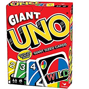 Cardinal jhgk Giant Uno Giant Game 2 Pack
