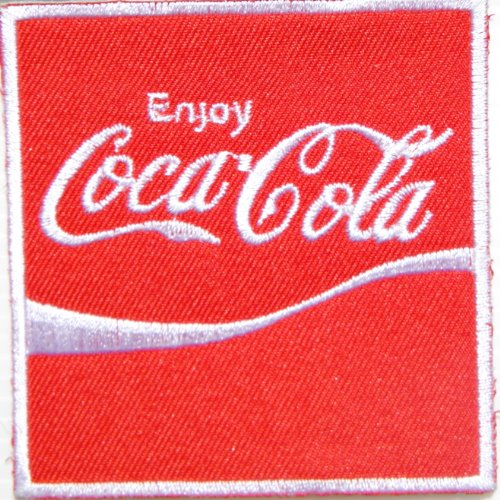 Diet Coke Diy Costume (Enjoy Coca Cola Coke Soft Drink Logo Jacket T-shirt Patch Sew Iron on Embroidered Sign Badge Costume)